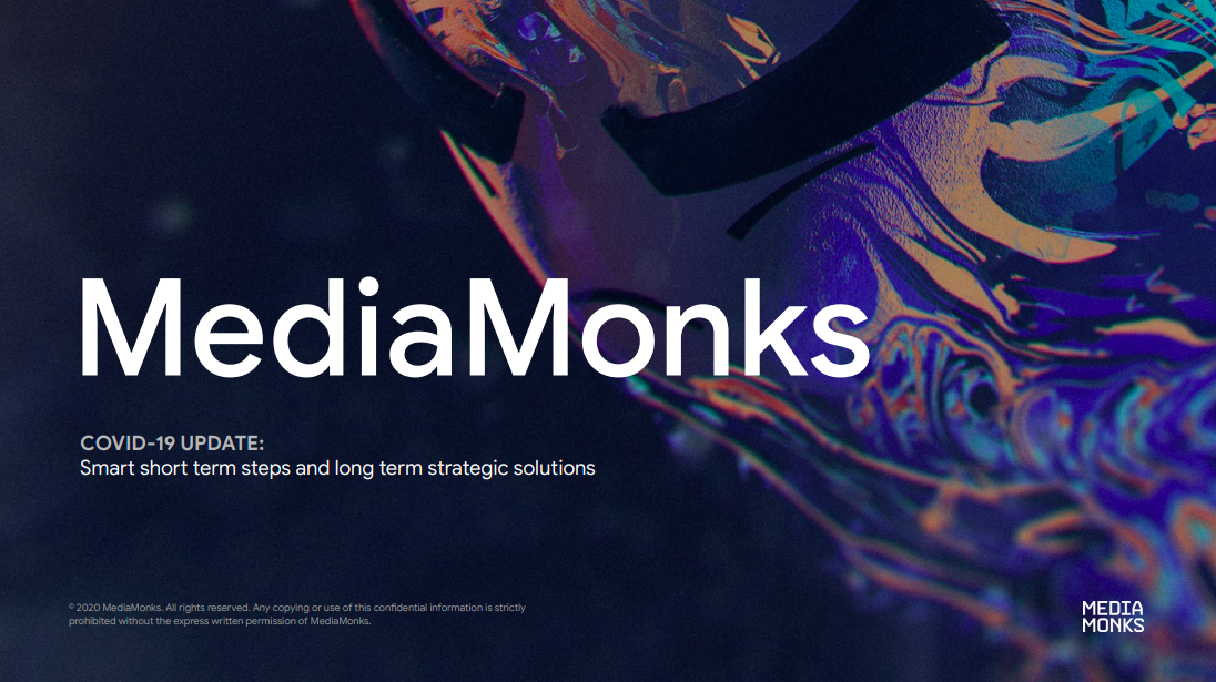Media Monk and Advertising Production Resources PDF Deck